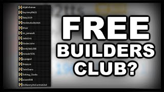 Roblox gave Tout le monde Turbo Builders Club