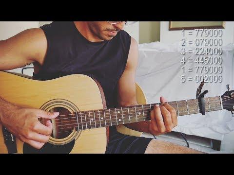 Novo Amor - Anchor (Guitar Tutorial)