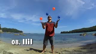 08  IIiI   Жонглирование 4 мячами   [РУКИ ТРЮКИ]   JUGGLING LESSON