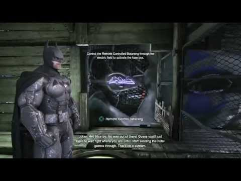 Batman  Arkham Origins (Gotham City Royal Hotel) Walkthrough Part 9