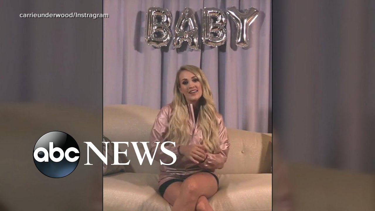 Carrie Underwood reveals baby bump, expecting 2nd child
