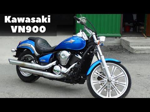 Kawasaki VN900. Неоднозначный мотоцикл.