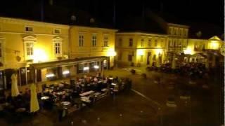 Cro-TV: Samobor at night - Summertime