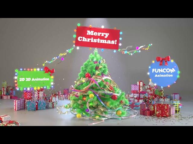2020 Christmas Animation HD FUNCOM