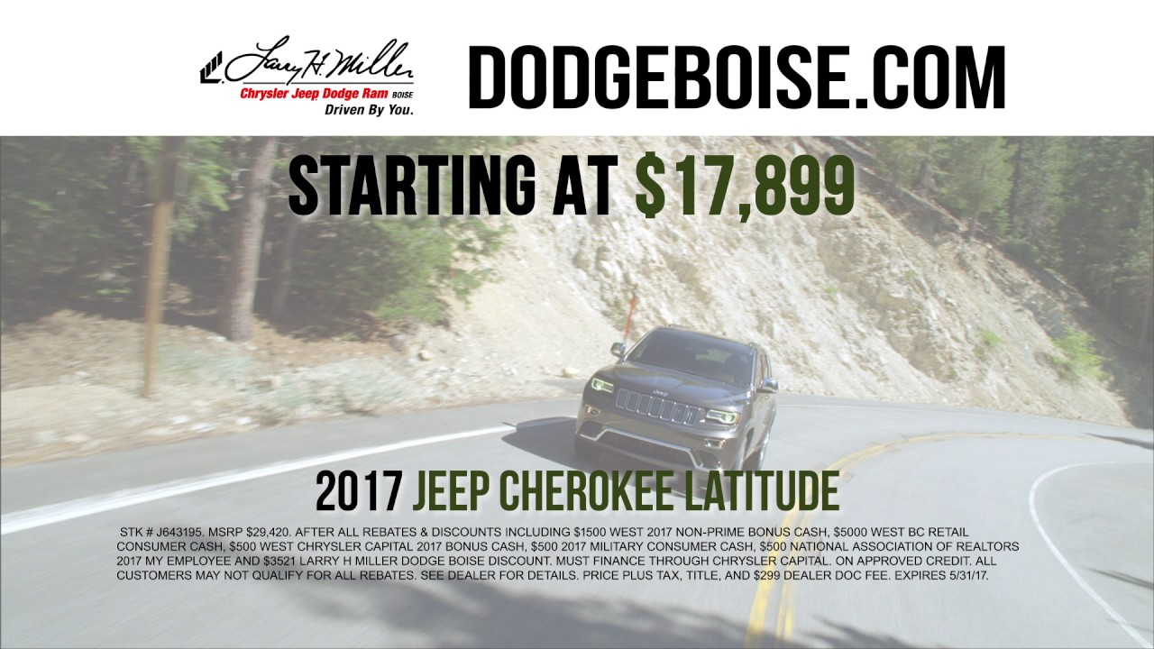 Larry Miller Dodge Boise >> Drive and Discover - Cheap Jeep - YouTube