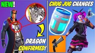 *NEW* Fortnite Update! DRAGONS CONFIRMED?!?, Chug Jug Changes Explained!, SCOPED REVOLVER! + More!