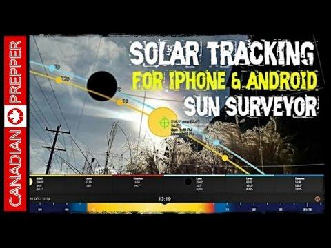 Sun Tracking App: Sun Surveyor (Android/ IOS)