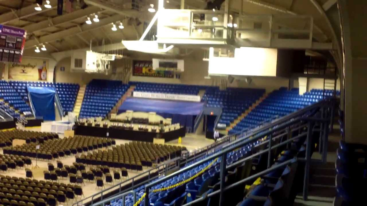 Johnstown War Memorial Arena Setup For The Distric
