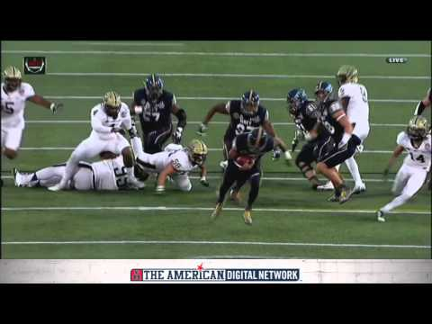 Military Bowl Highlights - Navy 44, Pittsburgh 28