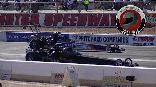 2017 NHRA Toyota Nationals @ LVMS (Part 37 - Top Alcohol Dragster Semi Final Eliminations)