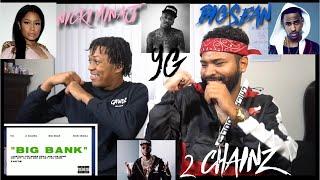 YG - Big Bank (Audio) ft. 2 Chainz, Big Sean, Nicki Minaj | FVO Reaction