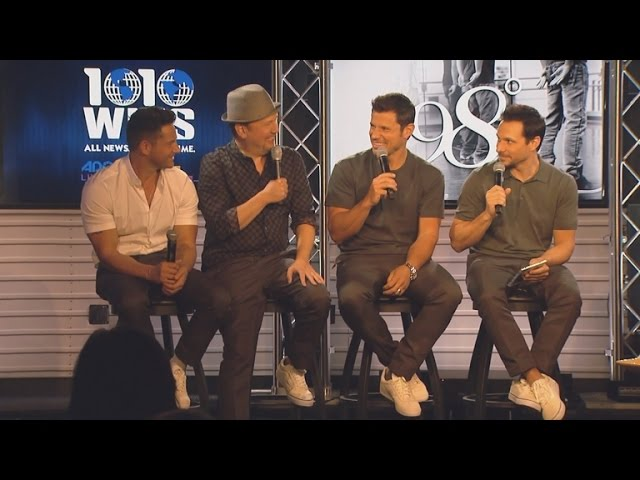 EXCLUSIVE: 98 Degrees Preps for MY2K Tour