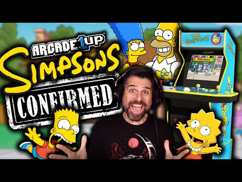 Arcade1up The Simpsons CONFIRMED! from Retro Ralph