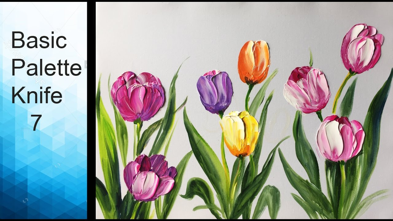 How To Paint Flowers Using Acrylic Paint