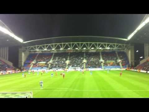 Wigan vs Liverpool 0 - 0 - Luis Suarez Song - Longest and Loudest One
