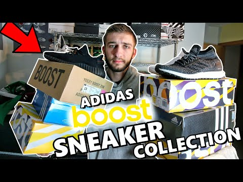 MY ENTIRE ADIDAS BOOST SNEAKER COLLECTION! 20+ PAIRS