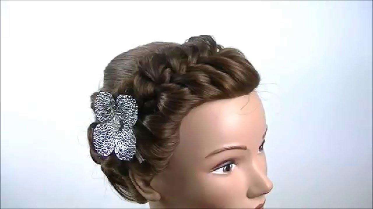 Peinado elegante con trenzas youtube - Fotos de comedores elegantes ...