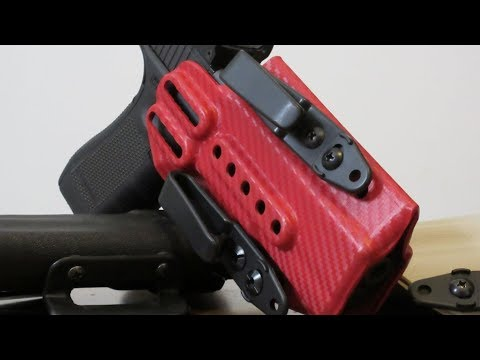 Strong Side Red Dot Carry in a Harry's Holster Insider - Review!