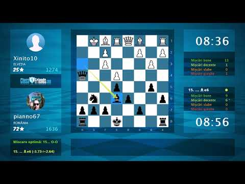 Chess Game Analysis: Xinito10 - pianno67 : 0-1 (By ChessFriends.com)