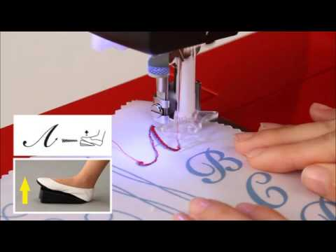 How To Sew Characters On The Toyota Oekaki Renaissance Sewing Interesting Oekaki Sewing Machine Reviews