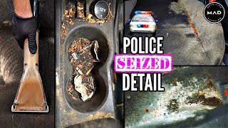 Super Cleaning A Disaster REPO | Police Seized Biohazard Ford | Insane Car Detailing TRANSFORMATION!