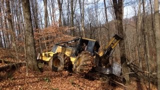 Logging Hardwood, Over the hill