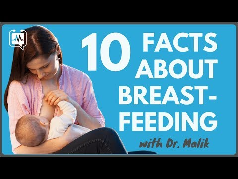 10 FACTS ABOUT BREASTFEEDING