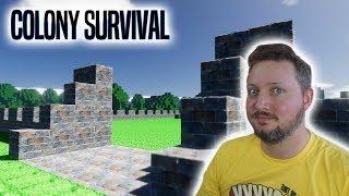MUR, VOLDGRAV OG MINING! - Colony Survival Dansk Ep 2