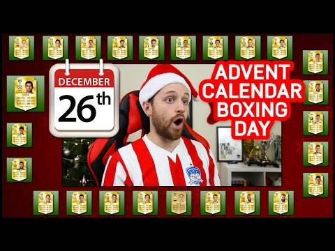 PLAYING WITH MY ADVENT CALENDAR SQUAD! - FIFA 16 ULTIMATE TEAM