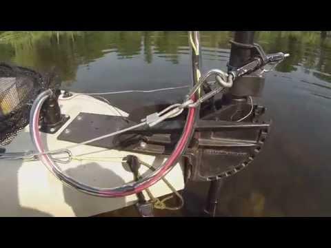 Best kayak trolling motor mount 30lb thrust motoriz for Cabela s advanced angler 120 trolling motor