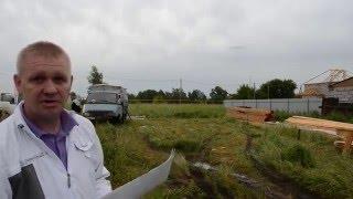 Строительство дома из бруса в Новосибирске(Небольшое :) видео о ходе строительства