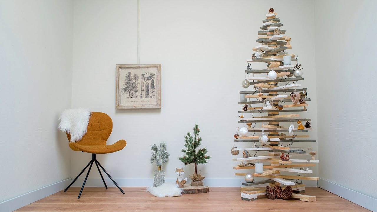 Houten Kerstboom 3d Kerstboom Versieren Gadero Youtube