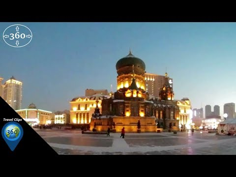 Multicultural China - St Sophia's Cathedral in Harbin, China - Travel Clips 360