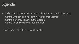 Locking down access to the Azure Cloud using SSO, Roles Based Access Control, and Conditional