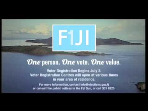 Fijian Government Fiji Elections Fiji Voter Registration - In I-Taukei Vernacular
