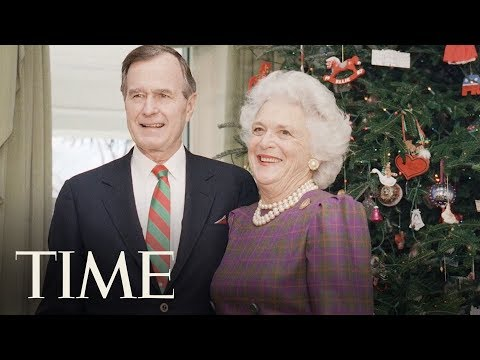 Former First Lady Barbara Bush Dies At Age 92 With Her Husband George H.W. Bush At Her Side | TIME