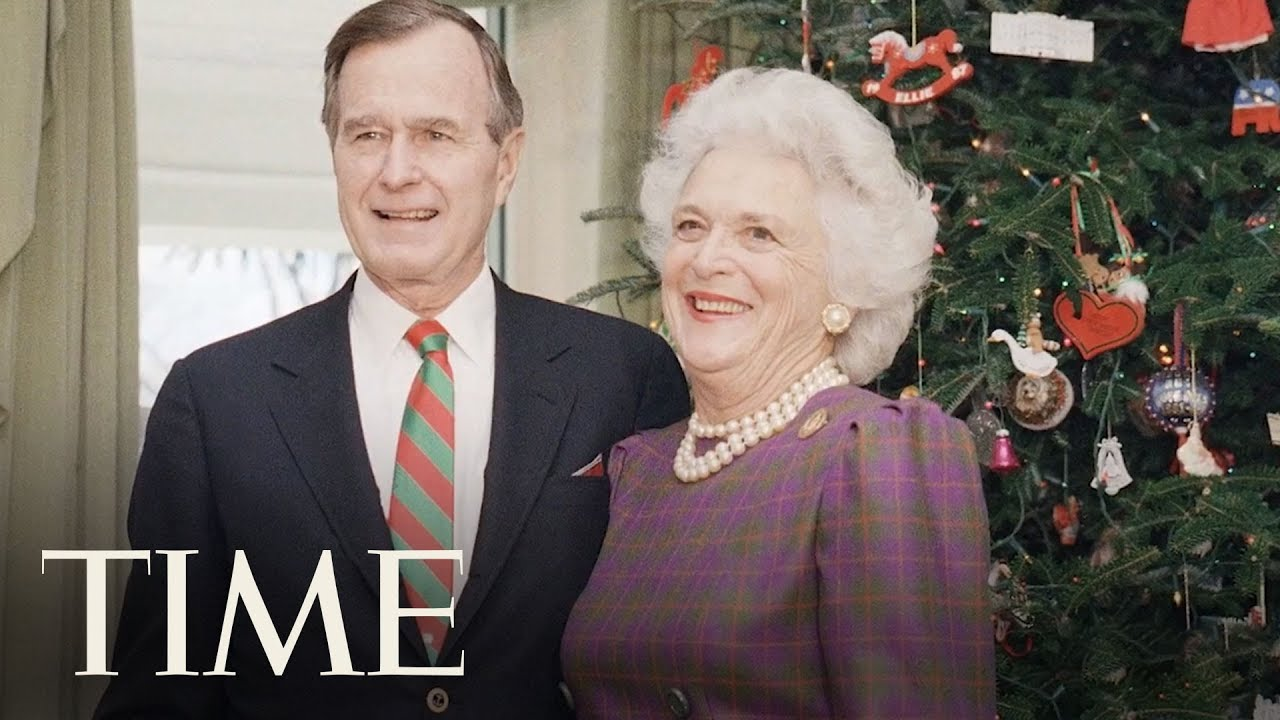 Former First Lady Barbara Bush Dies At Age 92 With Her Husband