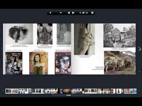 Artist Portfolio Magazine Issue 11, June 2013, pages 112-113