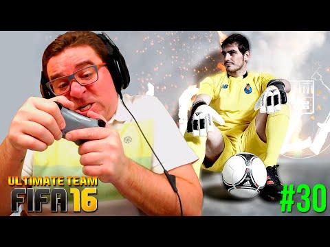 FIFA 16 UT #30   TOTW 23   IF Casillas - A MALDIÇÃO DO POSTE
