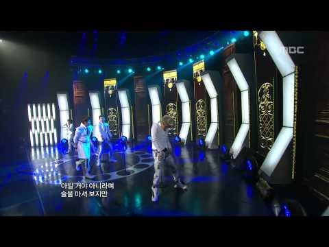 음악중심 - N-Train - One Last Cry, 엔트레인 - 울면서 울어,Music Core 20110625