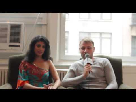 'Sense 8' Stars Tina Desai & Max Riemelt Explain The Series' Message