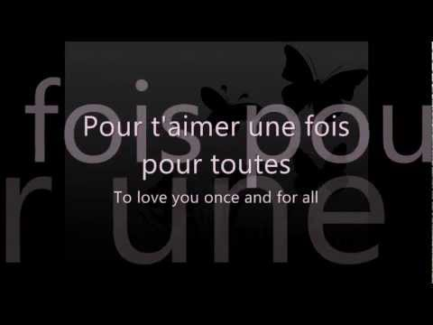 Céline Dion - L'amour existe encore (French Lyric Video with English Translation)