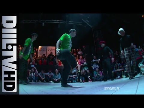 Juste Debout (POLAND) 2012 Locking Battle Finals (DIIL.TV HD)