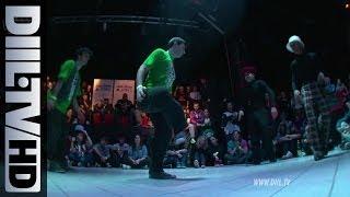 Juste Debout Poland 2012 Locking Battle Finals (DIIL.TV HD)