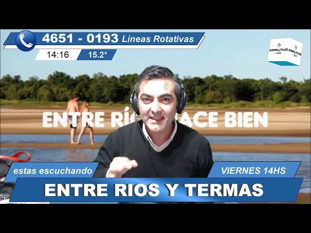 entre ríos y termas 14-6-19 el programa radial/televisivo de turismo y cultura de Entre Ríos