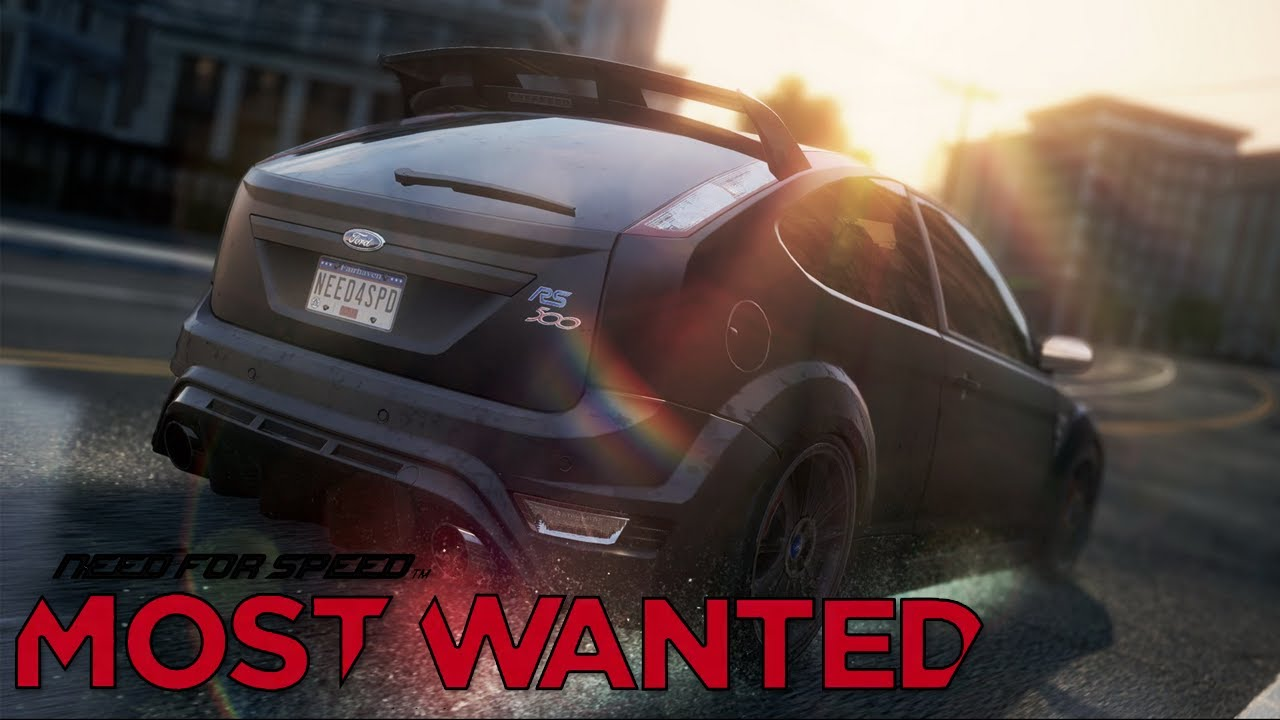 Need For Speed Most Wanted Ford Focus Rs Gameplay Hd Youtube