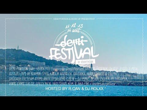 Youtube: Demi Festival 2021 Live Stream Jour 2 (replay part 1)