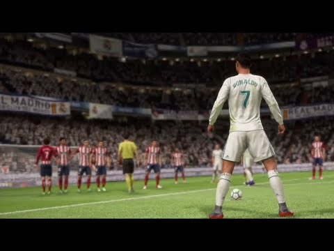 FIFA 18 - Intro Video & Opening Game Sequence (Real Madrid vs Atletico Madrid)