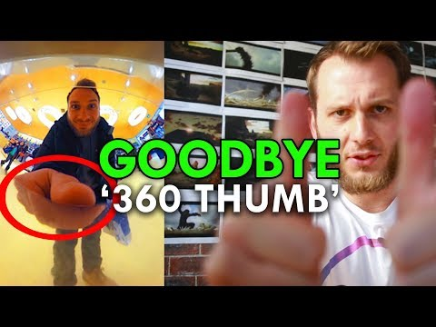 How To Avoid '360 Thumb'/Big Hand In 360 Photos