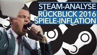 Steam-Analyse - Mehr, mehr, mehr bringt nichts mehr